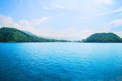 Sea, sky and land. Thailand nature Stock Photos
