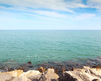 Sea and sky,  landscape Stock Images