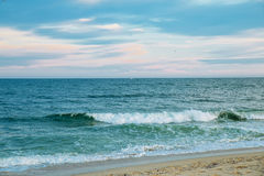 Sea and sky ocean sky wave Stock Image