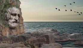 Sea, Sky, Promontory, Coast Stock Photo