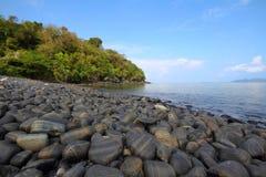 Sea sky rocks Royalty Free Stock Photography