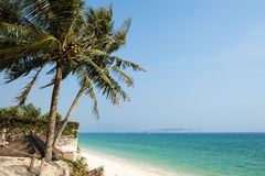 The sea and sky of Sanya Royalty Free Stock Images
