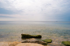 Sea with sky. Stock Photography