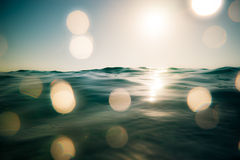 Sea and sky Royalty Free Stock Photo