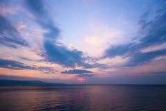 Sea sky sunset sunrise Stock Photography