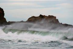 Sea Sky Surf Royalty Free Stock Photo