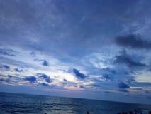 Cherayi beach kerala stock image