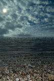 Sea Sky Water. Background bay beauty bright cloud color day in is landscape maximum royalty free stock photo