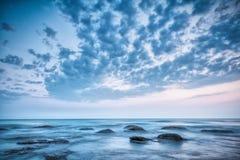 Sea and skye landscape Stock Photo