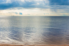 Sea with a small ripple Royalty Free Stock Images