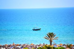 Sea of Sousse. This is a pic made in Sousse , Tunisia Royalty Free Stock Photos