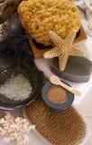 Sea spa behandeling Stock Afbeelding