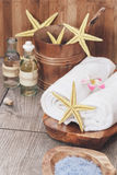 Sea spa still life Stock Image