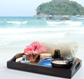 Sea spa Royalty Free Stock Images