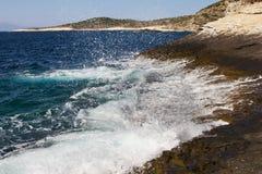 Sea splash Stock Photo