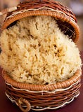 Sea Sponge in basket Royalty Free Stock Photo