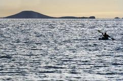 Sea Sport - Canoe and Kayak Stock Photos