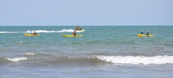 Sea kayak Stock Image