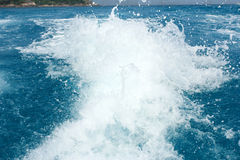 Sea spray Royalty Free Stock Photography