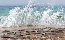 Sea spray Royalty Free Stock Image