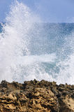 Sea spray near Royalty Free Stock Photo