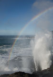 Sea Spray Rainbow Royalty Free Stock Image