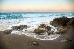 Sea, Spray, Sand, Surf Royalty Free Stock Photography