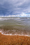 Sea in spring. hdr Photo Royalty Free Stock Photo