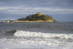 Sea and St Michael's Mount Stock Image