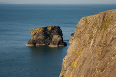 Sea stack. Royalty Free Stock Image