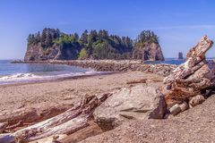 Small Islands Off The NW Coast Of The United States royalty free stock photo