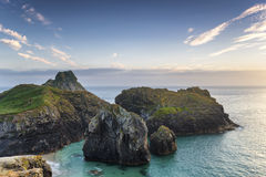 Sea Stacks at Kynance Cove Stock Images