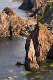 Sea stacks on Lewis Stock Images