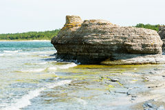 Sea stacks Royalty Free Stock Images