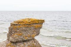 Sea stacks at sea Stock Photo