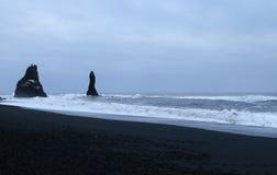 Sea stacks, Vik, Iceland Royalty Free Stock Image