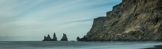 The Sea Stacks of Vik, Iceland Stock Photography