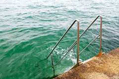 Sea stairs Royalty Free Stock Photo