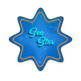 Sea star vector Stock Photography