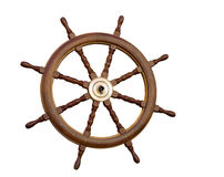 The sea steering wheel Royalty Free Stock Image