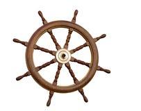 The sea steering wheel Royalty Free Stock Image
