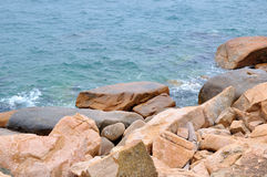 Sea and stone Stock Photography
