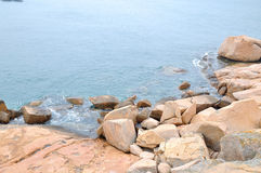 Sea and stone Royalty Free Stock Photography