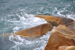 Sea and stone Royalty Free Stock Images