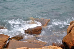 Sea and stone Royalty Free Stock Photos