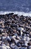 Sea stones. With difference colors and shapes Royalty Free Stock Image