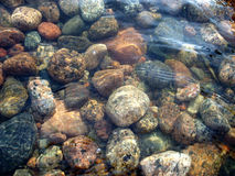 Sea stones. This photo is about sea and stones in water royalty free stock photos