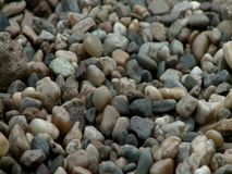 Sea stones background stock video footage