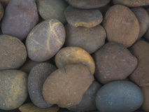 Sea stones background texture Royalty Free Stock Images