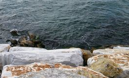 Sea and stones Stock Photography